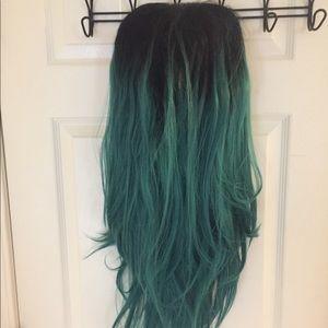 """Ombré 36"""" Lace-Front Wig"""